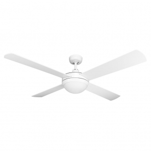 Brisk Ceiling fan white Domus lighting
