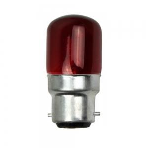 PILOT 15W BAYONET CAP B22 RED T26 PYGMY