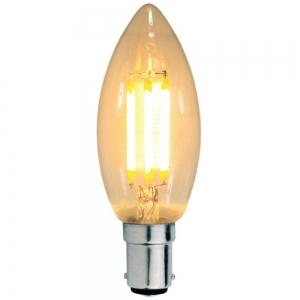 FANCY CANDLE 2W LED GLOBE B15 9B15LED12 Mercator Lighting