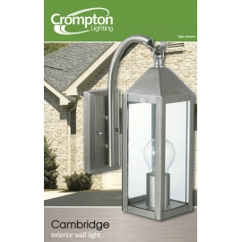 Crompton Lighting Cambridge Exterior Wall Light