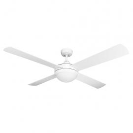 Brisk Ceiling fan white Domus lighting