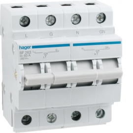 HAGER SF263 | Changeover Switch