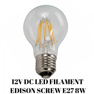 12V LED FILAMENT LAMP 8W