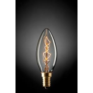 FANCY CANDLE 25W GLOBE E14 9E1412 Mercator Lighting