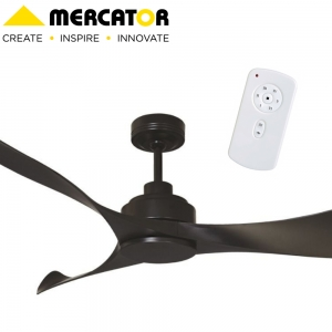 Mercator Eagle Ceiling Fan BLACK