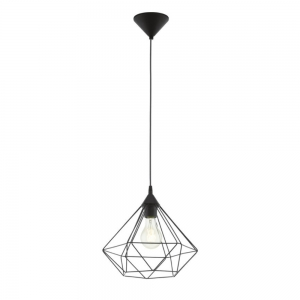Tarbes Black Pendant Large