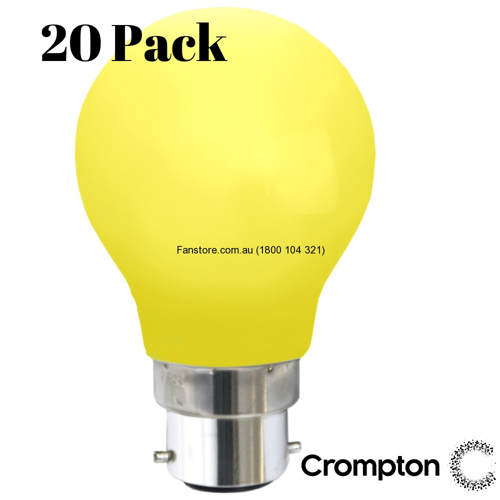 Yellow Party Light Globes