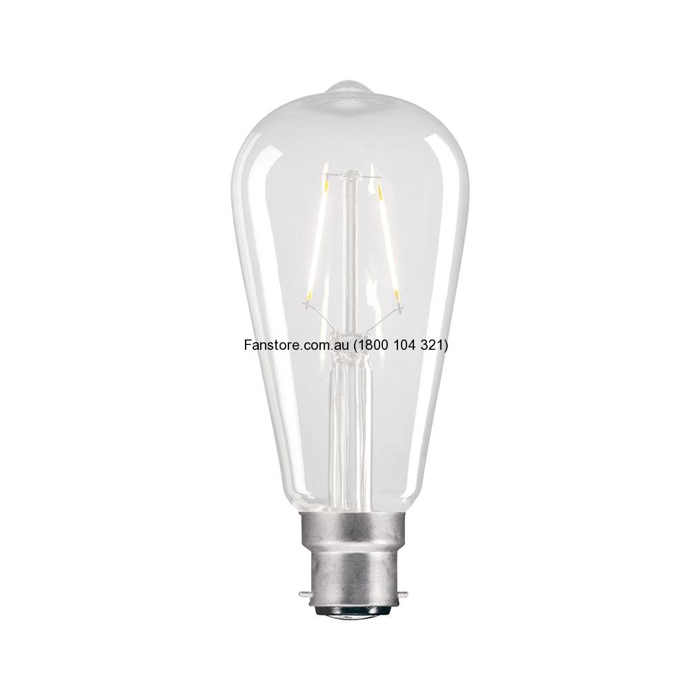PEAR 4W LED GLOBE B22 9B22LED16
