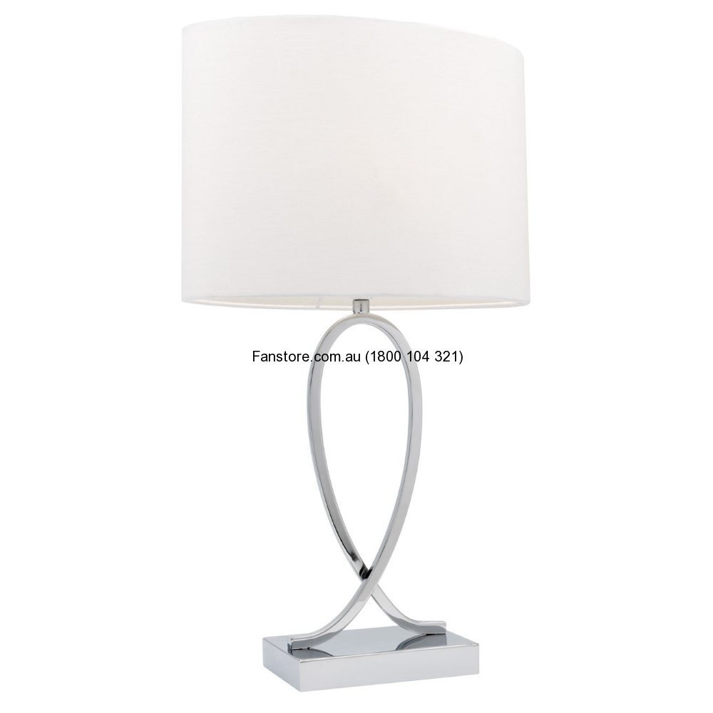 Campbell Small Touch Lamp White