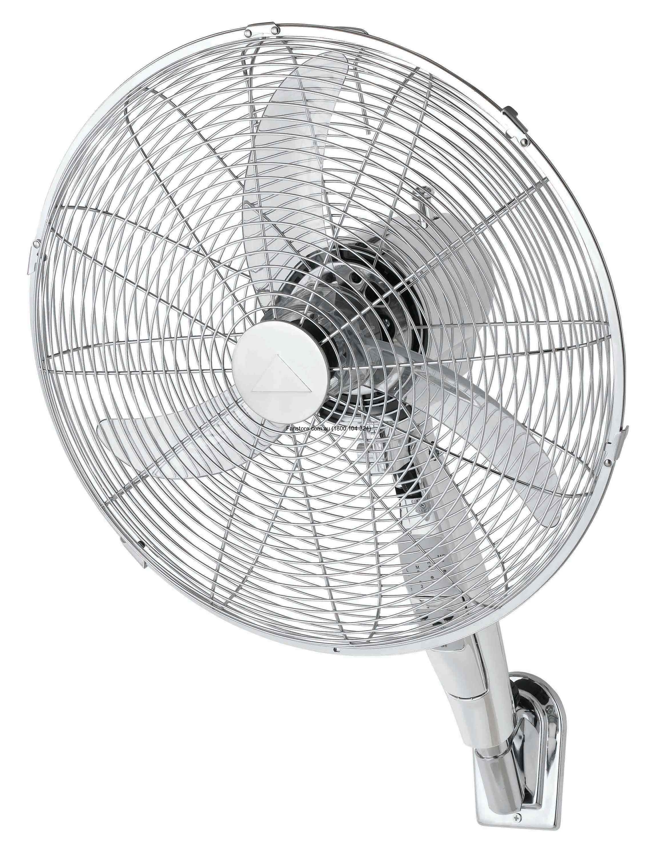 Atlas wall fan Chrome