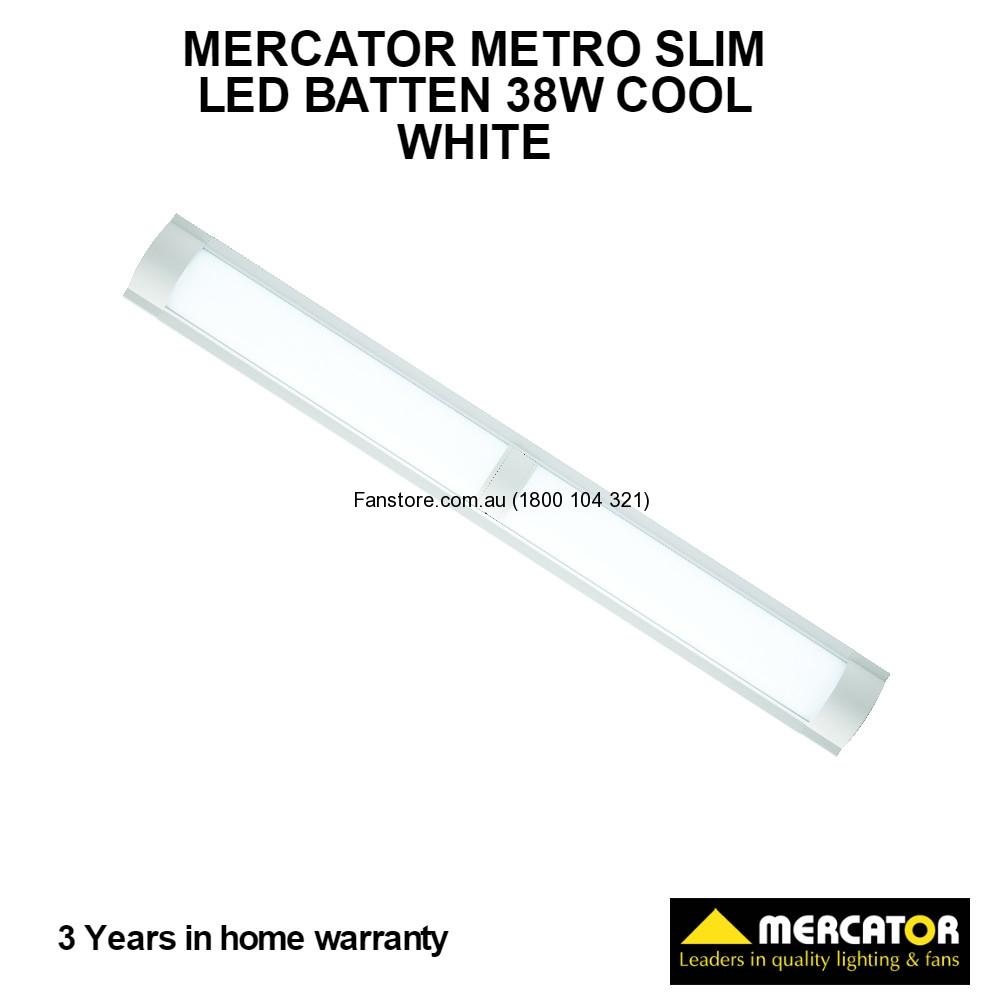 MF3638WHT/5 Mercator Metro Led slim