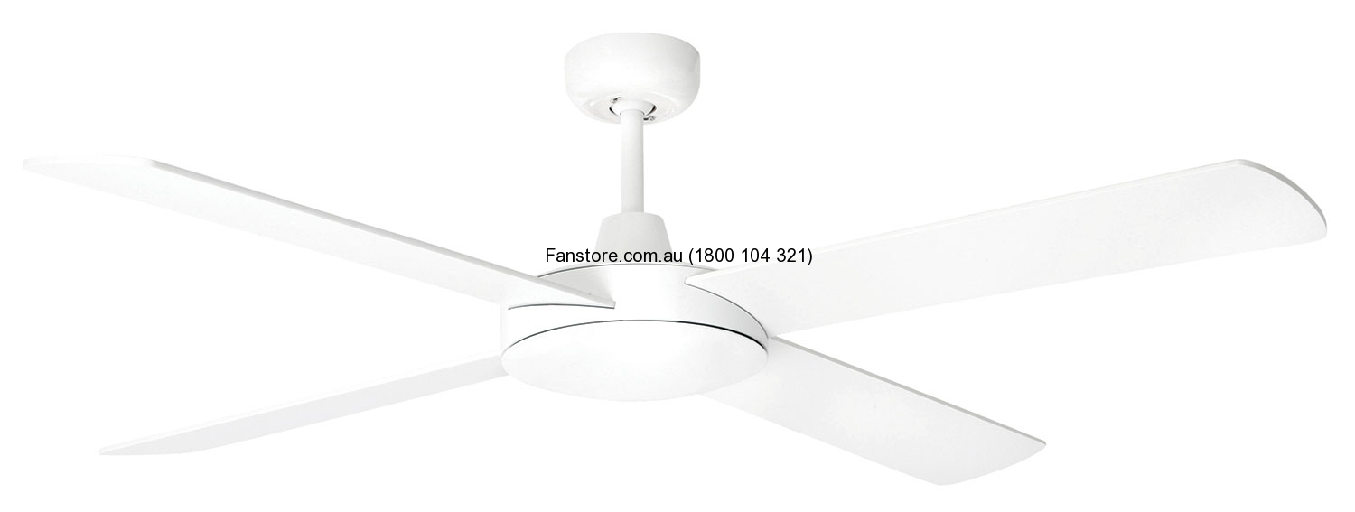 Brilliant Ceiling Fan Tempest White