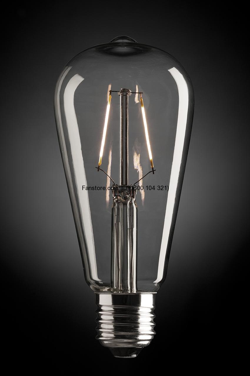 PEAR 4W LED GLOBE E27 9E27LED16